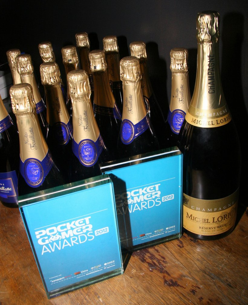Pocket Gamer Awards 2012 party photos