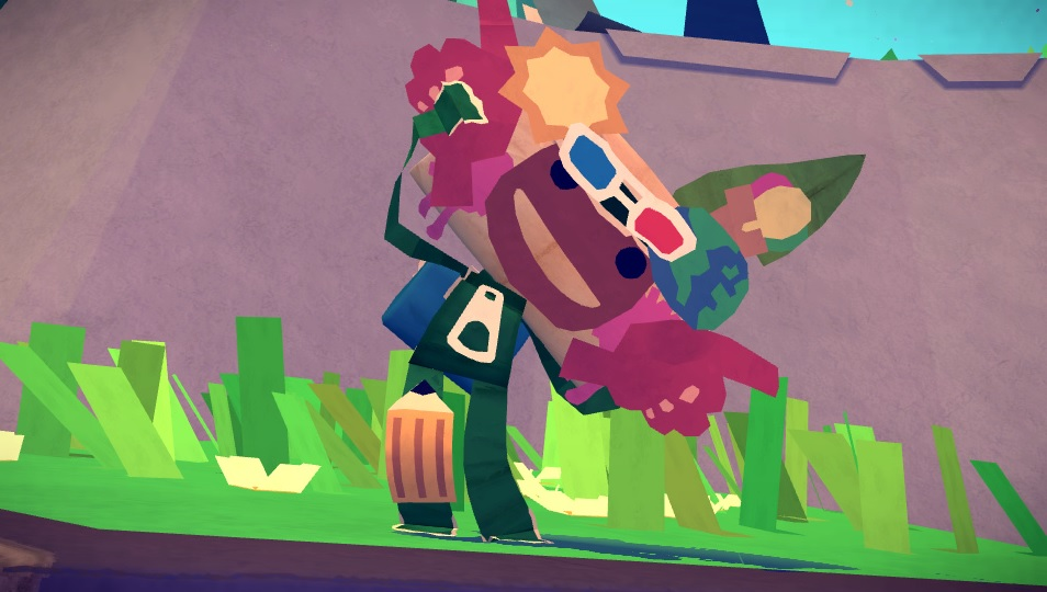 Tearaway's first DLC contains decorations for LittleBigPlanet's Sackboy and Sackgirl