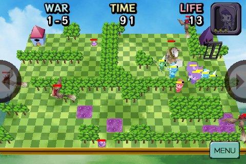 Free iPhone game: Sliding Heroes