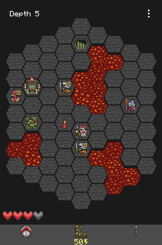 Be careful with every turn in brutal tactical roguelike Hoplite for iOS and Android