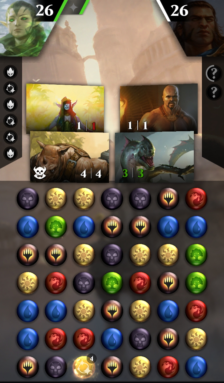 Magic: The Gathering - Puzzle Quest blends match-3 RPG and card game this fall