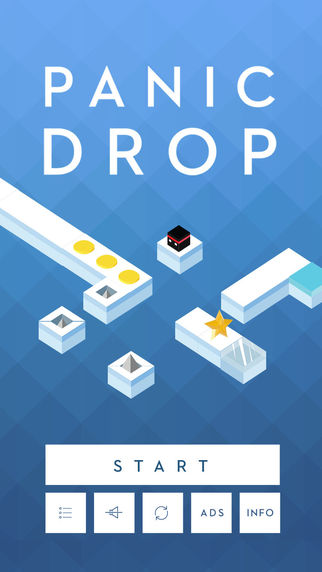 Don't Panic! Endless action game, Panic Drop, is now out on iOS