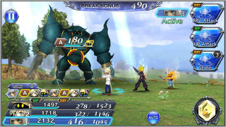 Test de Dissidia Final Fantasy: Opera Omnia
