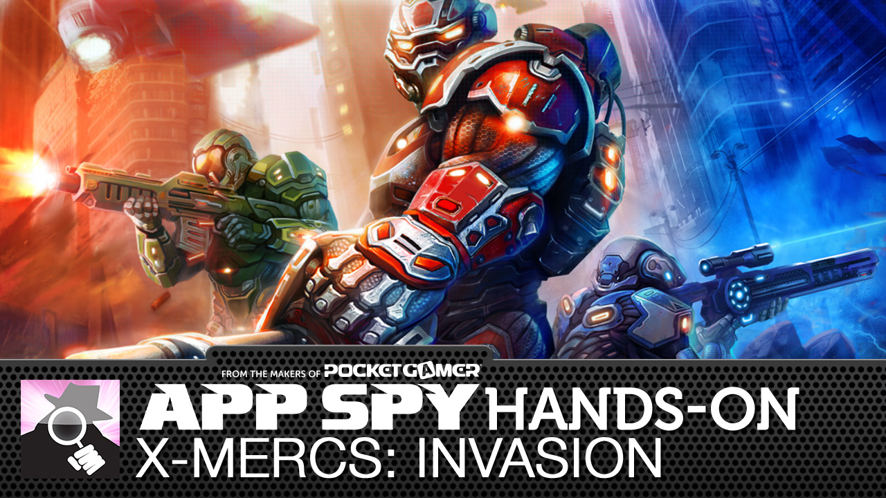 X-Mercs: Invasion puts you in charge of a UFO defense force, pits you against an enemy unknown