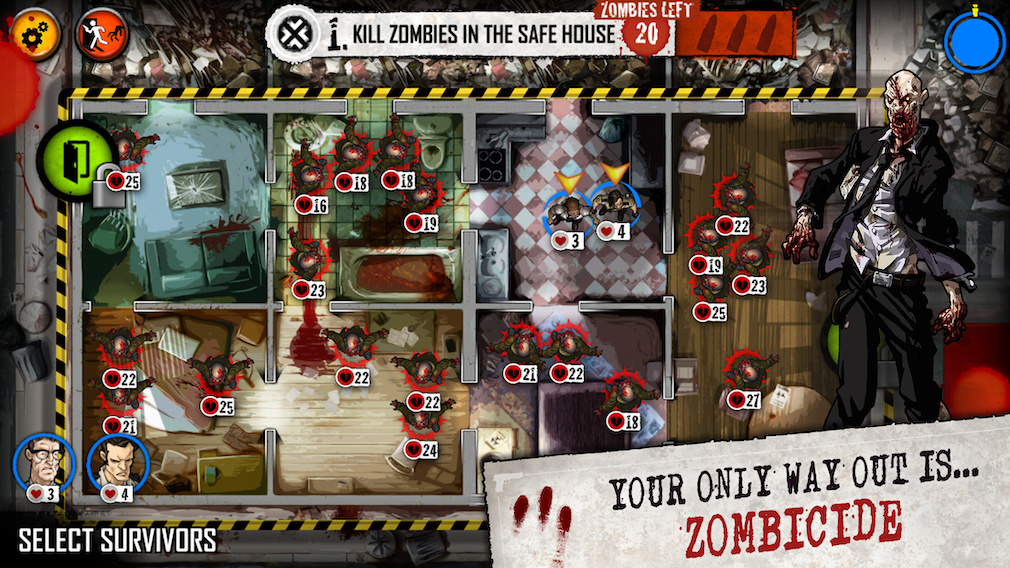 Zombicide: Tactics & Shotguns review - A brainless but fun strategy romp