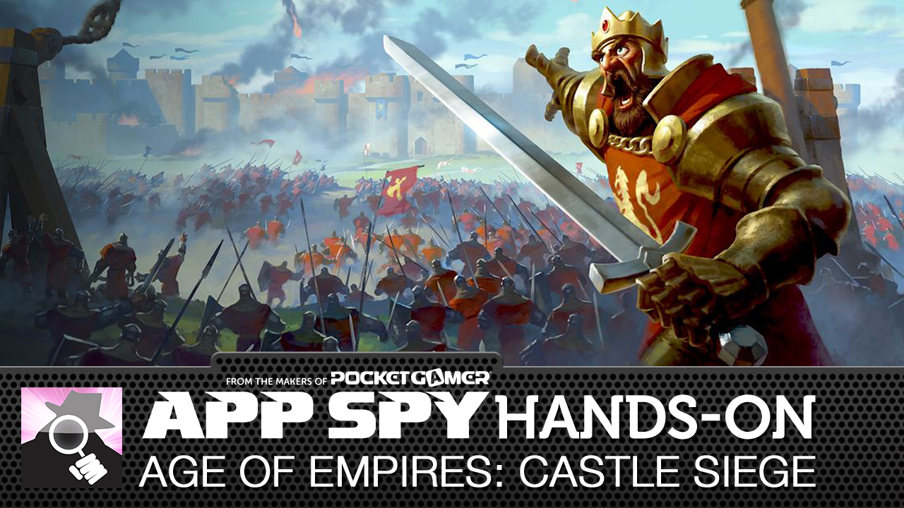 Age of Empires: Castle Siege is... sigh... it's Clash of Clans again