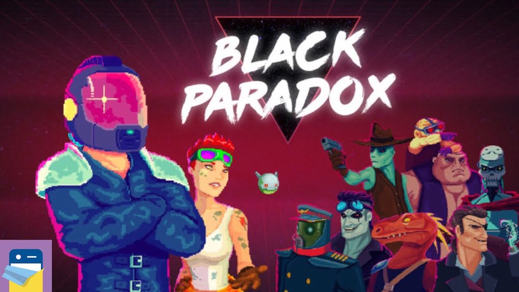 Black Paradox is a slick rogue-lite shooter that's set to come out for iPhone and iPad this week