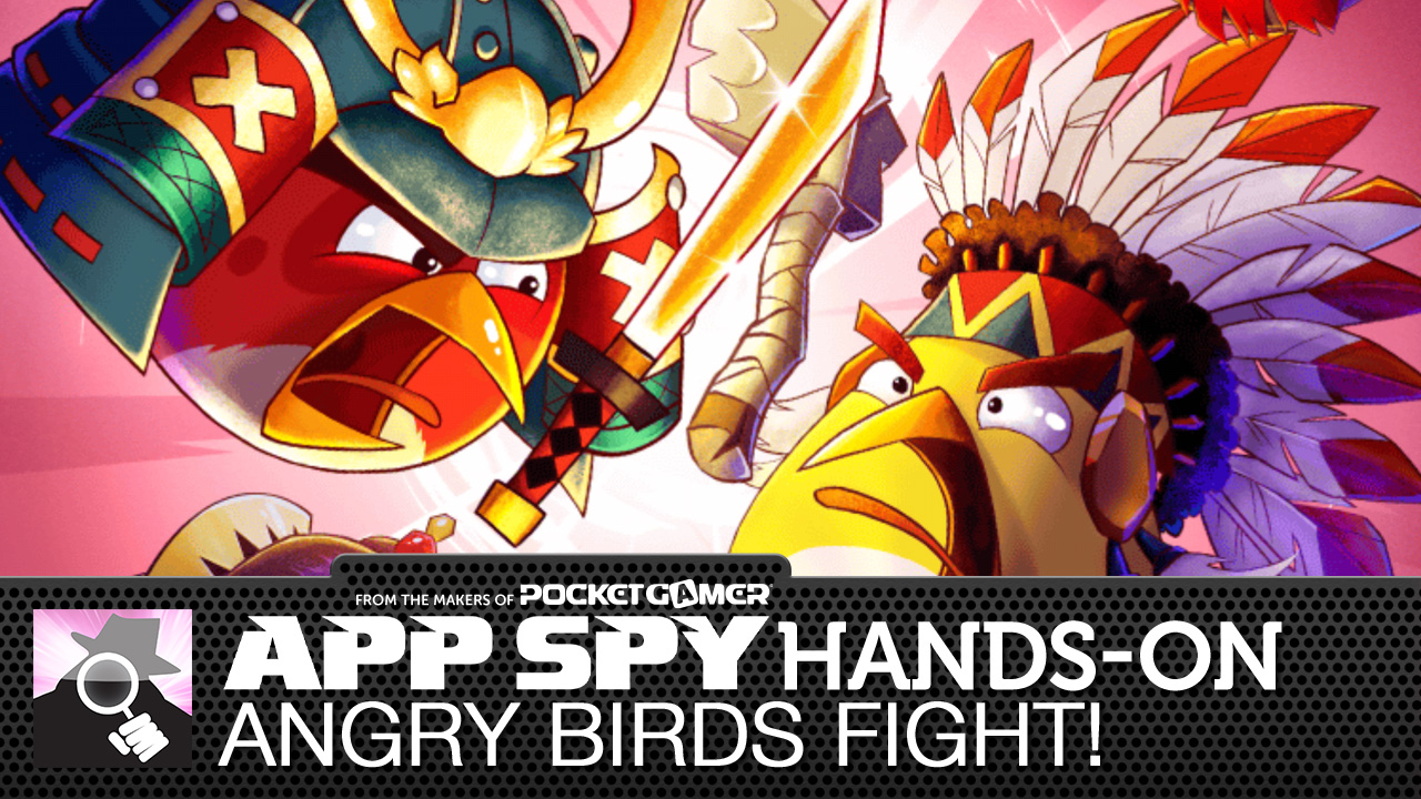 Here's what Angry Birds Stella POP! and Angry Birds Fight! look like in motion