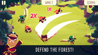 Spry Fox's slice-n-dodge action game Bushido Bear is now available worldwide