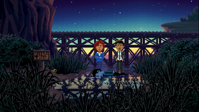 Solve a murder mystery in Thimbleweed Park, out now on iPhone and iPad