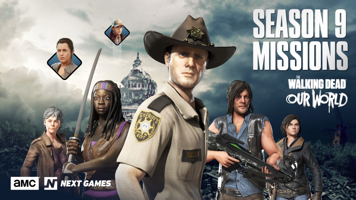 The Walking Dead: Our World is getting TV show tie-in missions