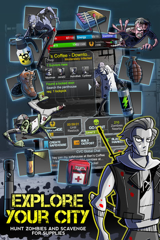 Zombie-filled iPhone MMORPG Please Stay Calm updated with increased level cap, ability to recruit survivors, and more