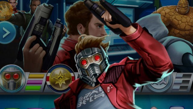The Guardians of the Galaxy makes an appearance in five Marvel games this week
