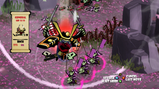 Quirky cross-platform strategy fun coming in Skulls of the Shogun, due out by end of the month