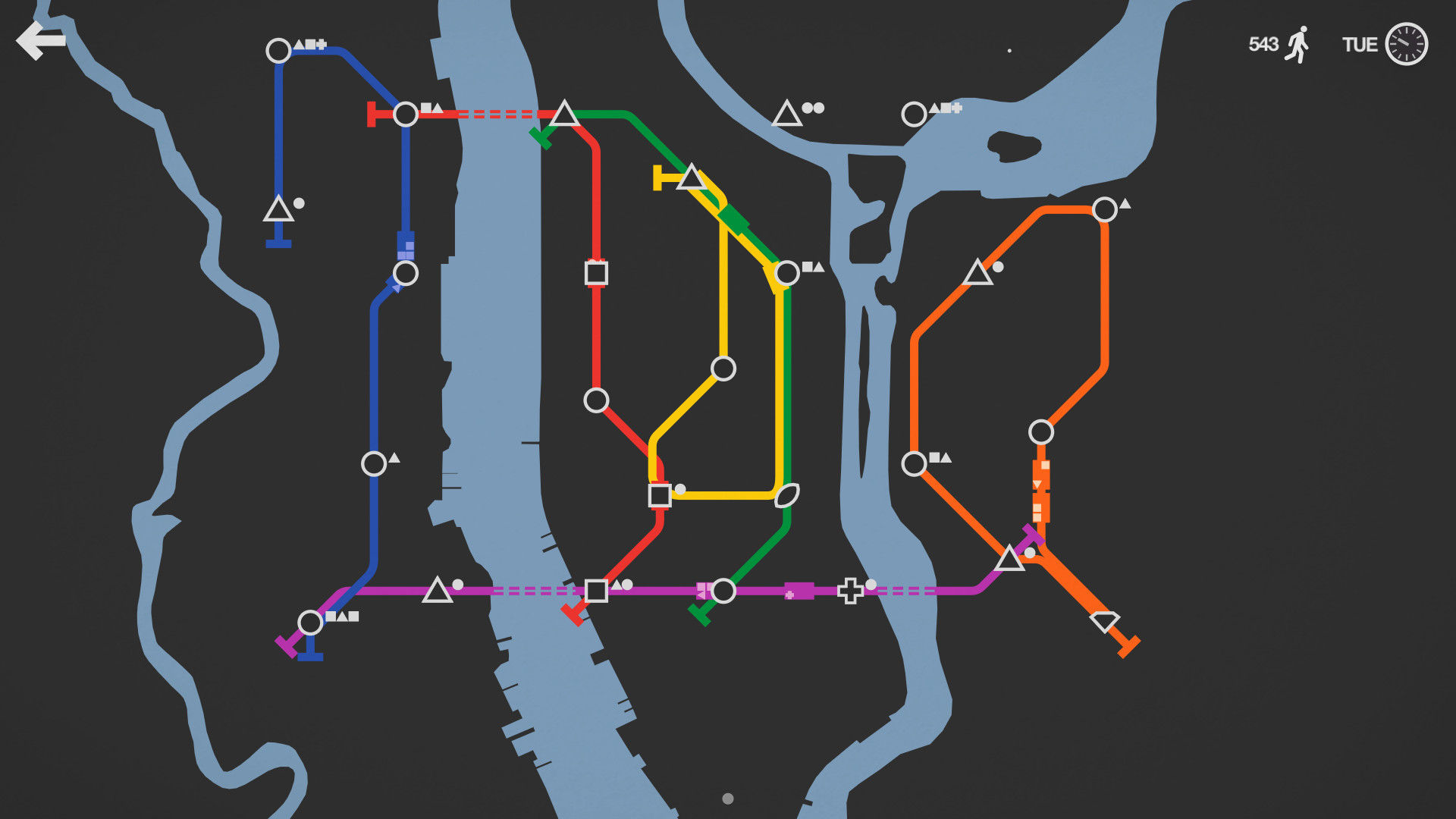 Subway simulation puzzler Mini Metro is headed to Nintendo Switch in 2018