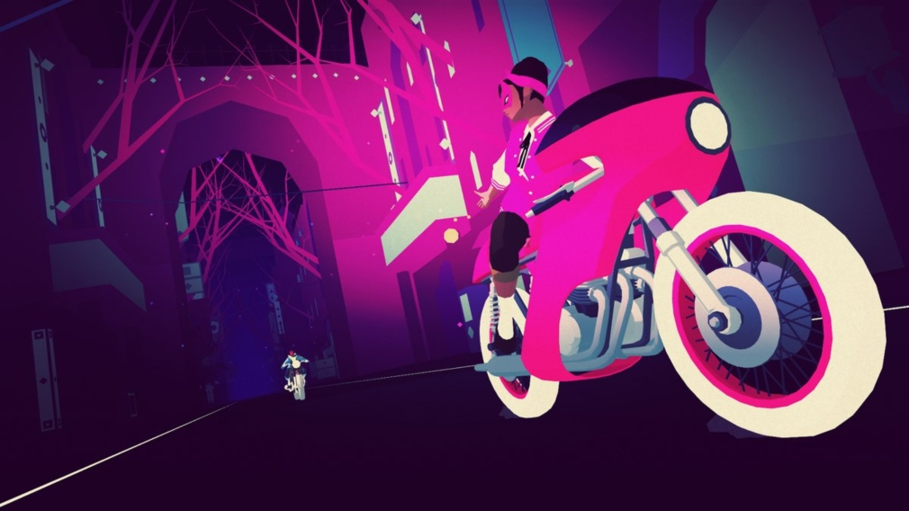 Simogo's stunning Sayonara Wild Hearts racing to Switch next year