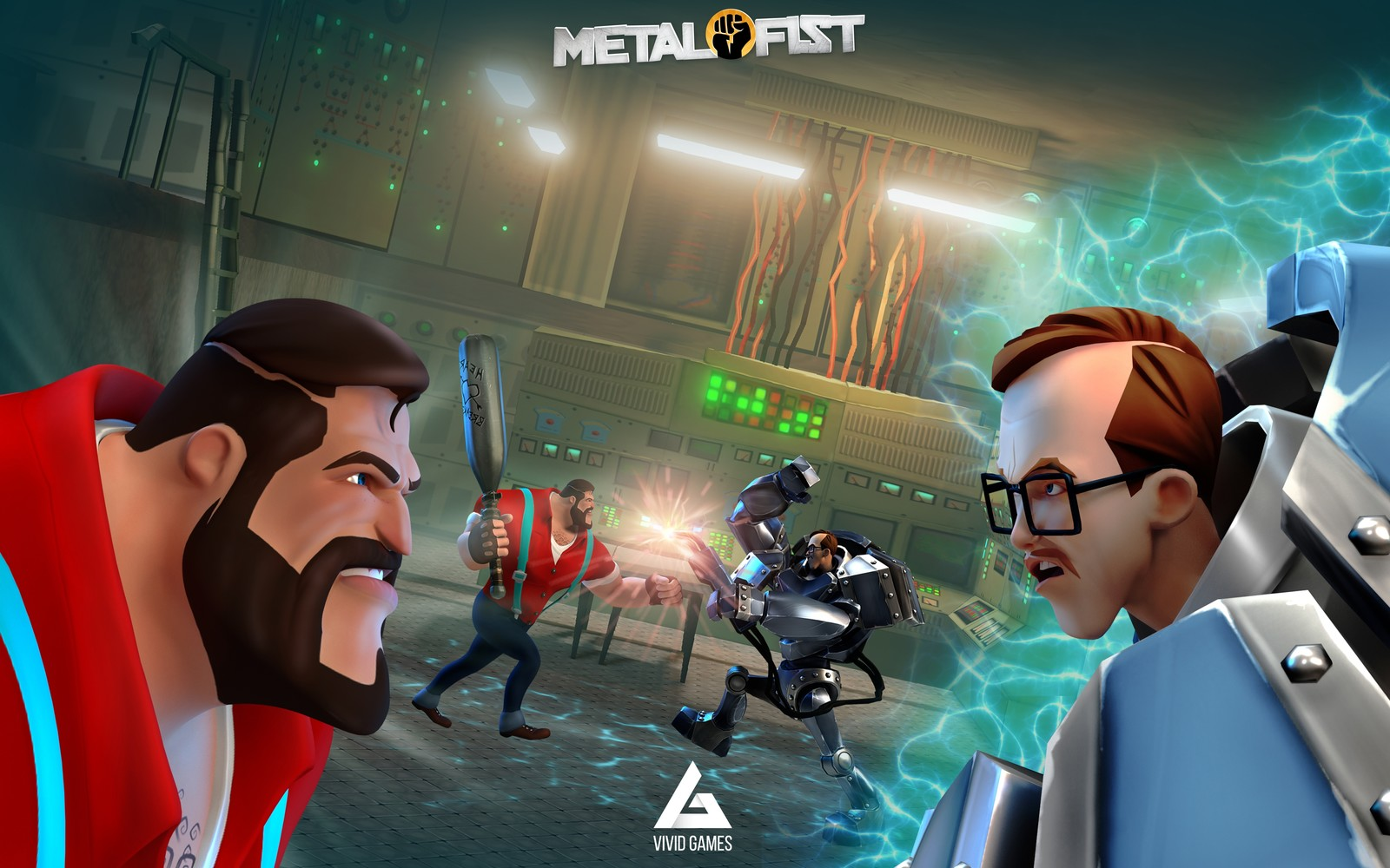Gamescom 2017: Metal Fist is a melee brawler for mobile from Vivid Games