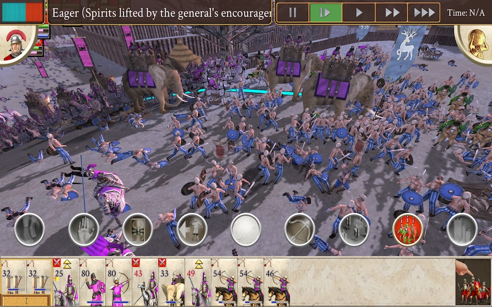 Build your empire now ROME: Total War has landed on Android