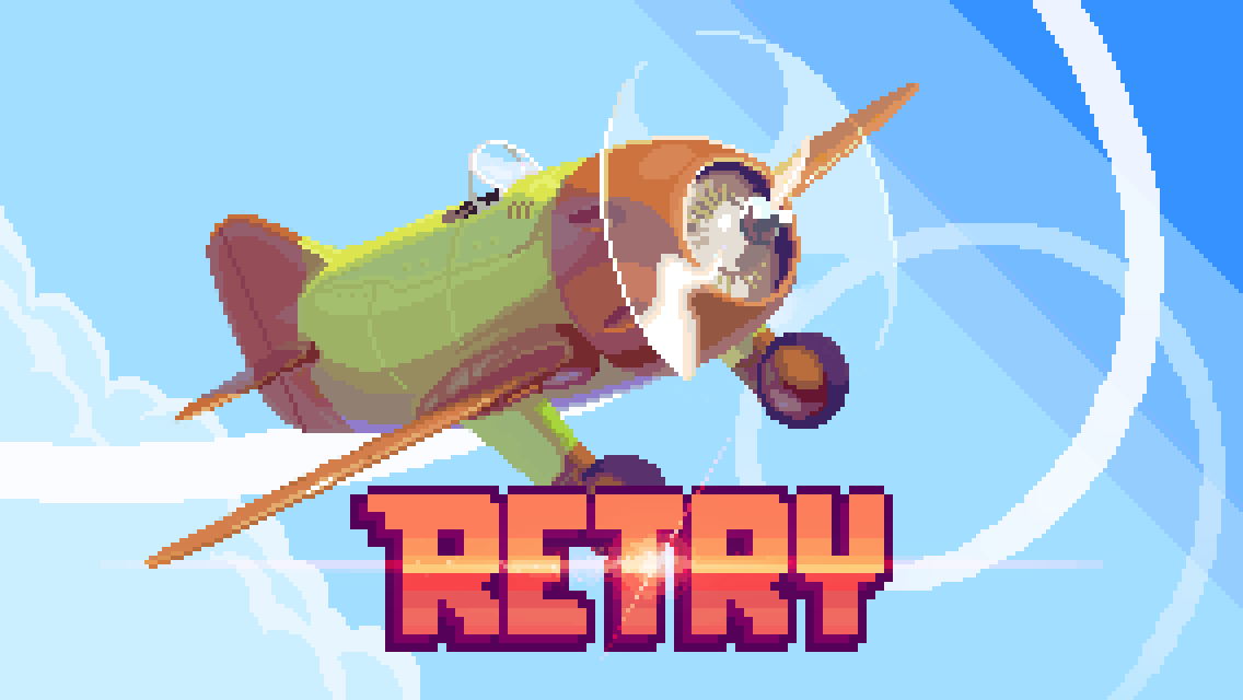 [Update] Angry Birds maker Rovio will publish RETRY, a hardcore, retro-styled action game