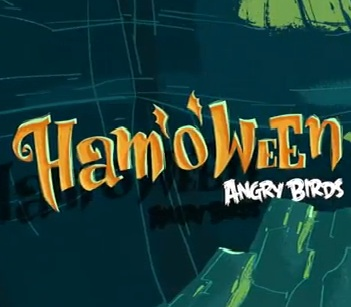 Angry Birds Seasons Ham'o'ween 3-star video walkthroughs – World 2