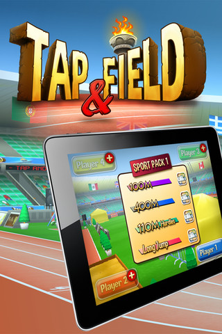 Do your best Usain Bolt impression in Tap and Field for iOS