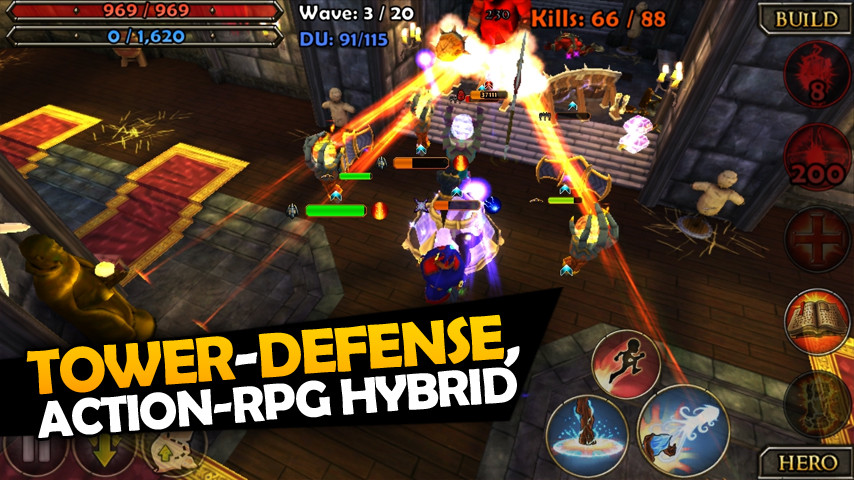 Dungeon Defenders: Second Wave launching tomorrow on iOS as free update to Dungeon Defenders: First Wave