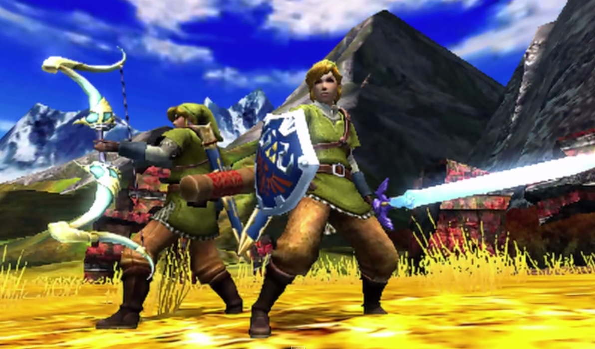 You'll be able to craft Link's equipment in Monster Hunter 4 Ultimate for 3DS