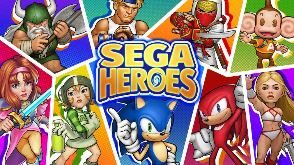 SEGA Heroes is sending some familiar faces to help save the day
