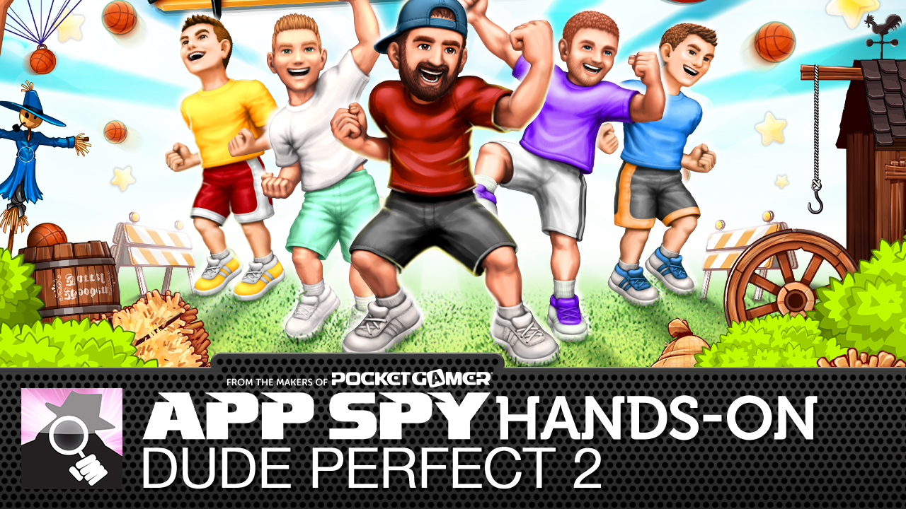 Dude Perfect 2 allows you to realise your dream of throwing a ball in a hoop from dozens of feet away