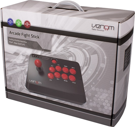 Venom Multi Format Arcade Stick Review -