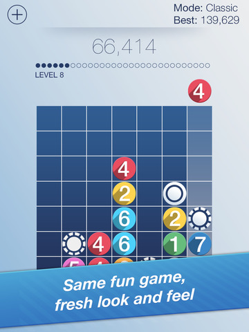 Zynga updates Drop7 with fancy new visuals, loads of adverts