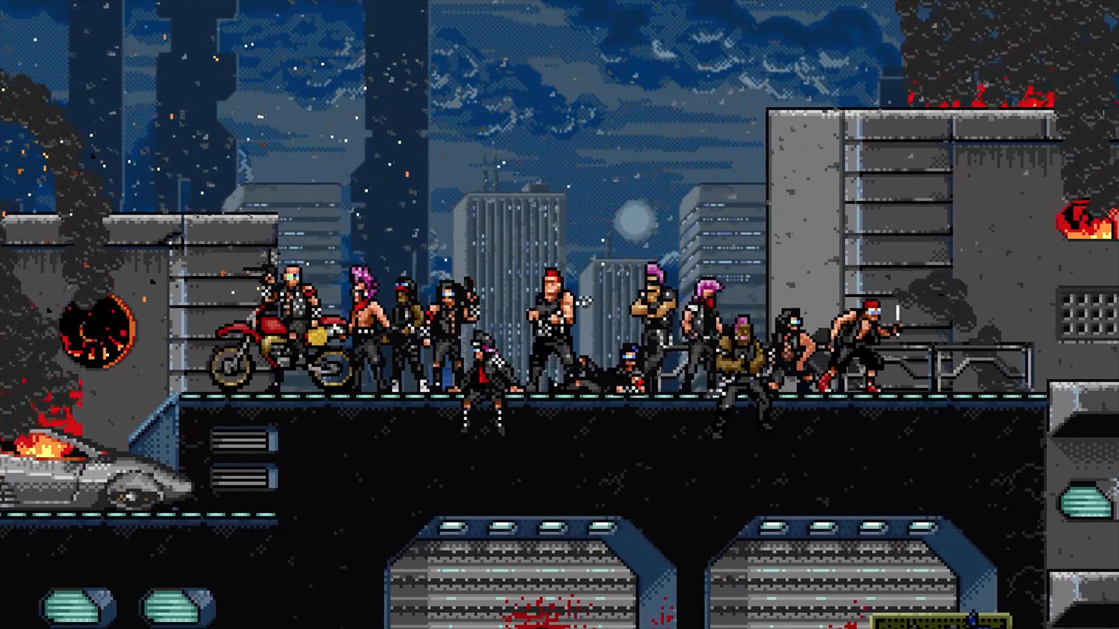 Coffee Stain Studios is publishing the retro side-scrolling shooter Huntdown