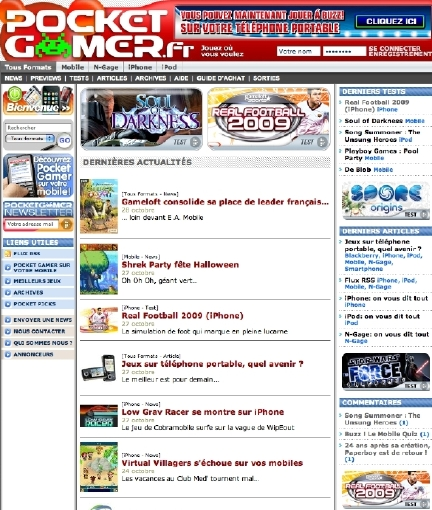 Pocket Gamer launches in France