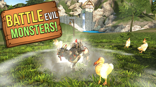 Goat Simulator's absurd parody of MMOs is now available on iOS and Android