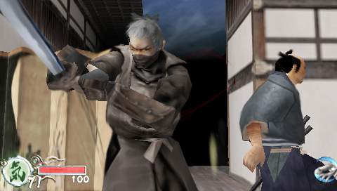 tenchu assassin psp
