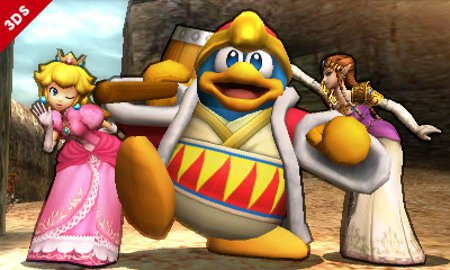 Kirby's archenemy King Dedede will be a playable character in Super Smash Bros