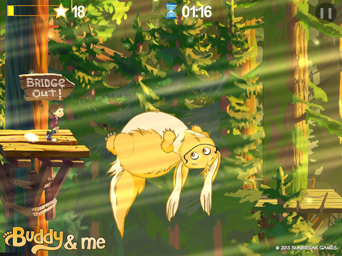 Beautiful endless-runner Buddy & Me smashes through $40,000 Kickstarter target