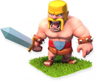 Barbarian - soldier stats and troop tactics in Clash of Clans