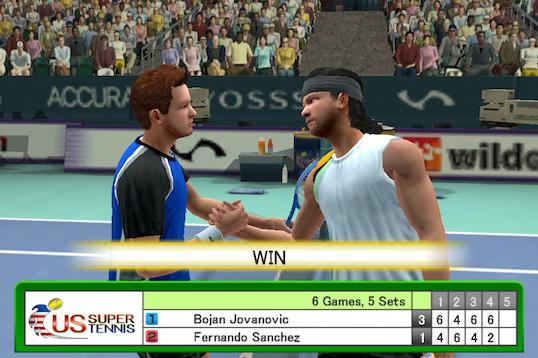 Sega's Virtua Tennis Challenge takes first service on the iOS court tomorrow