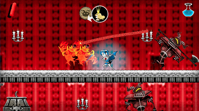 Chalky platformer Dokuro sneaks onto US PlayStation Store