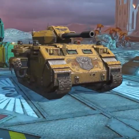 World Of Tanks Blitz is getting two Warhammer 40,000 vehicles