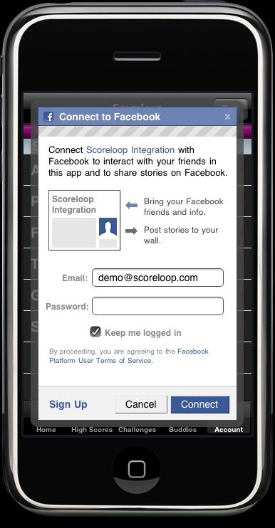 Scoreloop talks connected iPhone gaming