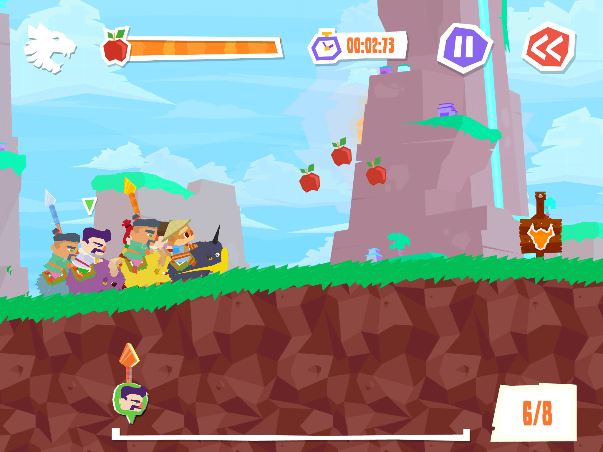 2D side-scroller Yak Dash: Horns of Glory is now racing onto Android