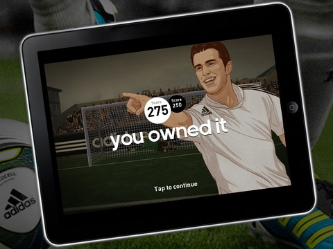 Flick Kick specialist PikPok teams up with Adidas to boot new soccer game Own the Game onto iPhone
