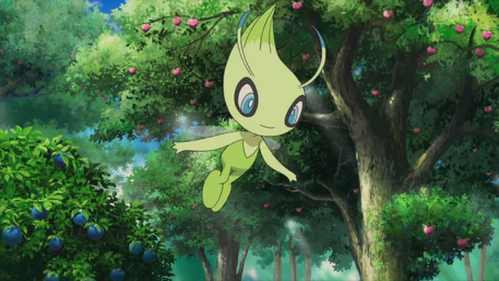 Catch Celebi in Pokemon GO starting next week!