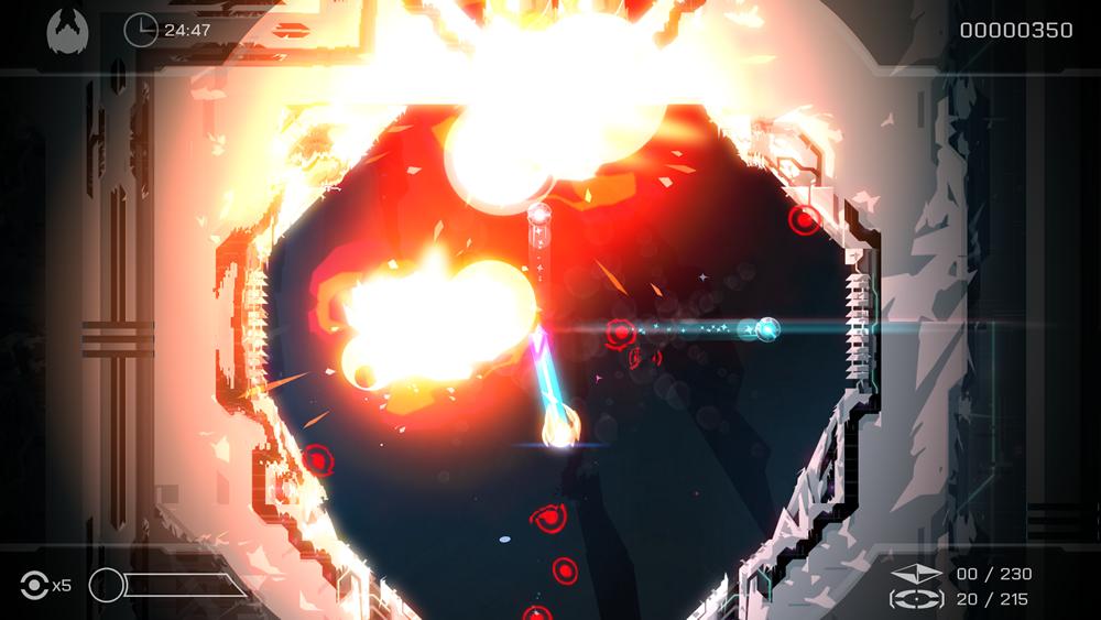 Velocity 2X PS Vita, screenshot 2