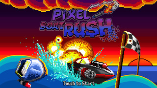Out at midnight: Pixel Boat Rush is a retro-looking powerboat racer with a twist for iPad and iPhone