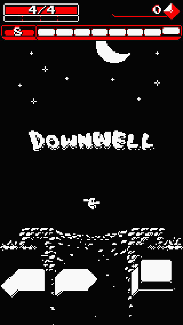 Out now: Unleash furious footwear firepower in roguelite shooter Downwell