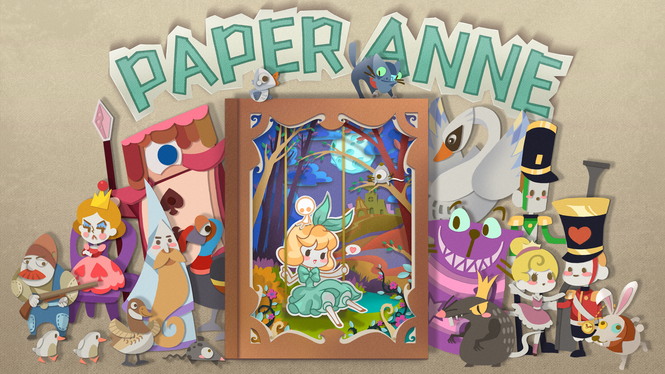 Papercraft puzzler PAPER Anne is set to charm iOS players with a new fourth chapter