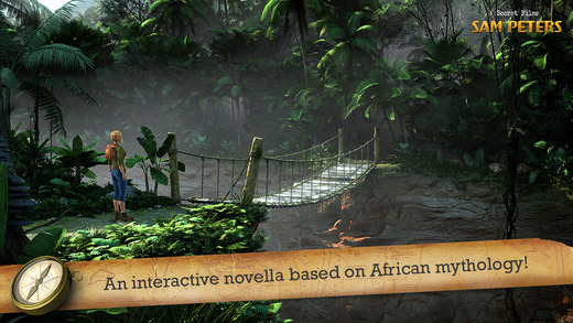 Adventure game spin-off Secret Files Sam Peters has you survive the beasts and demons of the African jungle